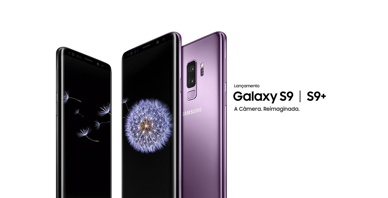Smartphone Samsung Galaxy S9 e S9 Plus